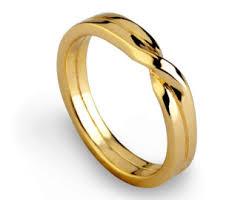 gold wedding bands for wedding bands etsy