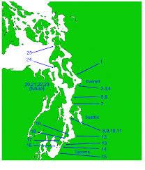 Washington snorkeling images Scuba shore diving site listing for washington usa west gif