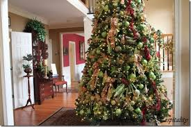 feature friday ruby s big and festive foyer tree southern