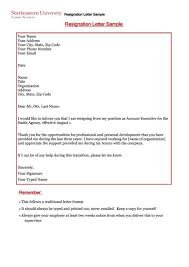 standard resignation letter template 8 standard two week notice