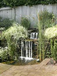 How To Build A Backyard Build A Simple Backyard Waterfall Building A Backyard Waterfall