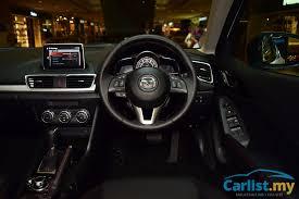 Mazda 3 Interior 2015 New 2015 Mazda 3 Ckd Launched In Malaysia Sedan Gl Sedan High