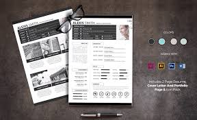 2 Page Resume Template 50 Best Resume Templates For Word That Look Like Photoshop Designs