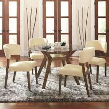 Round Dining Room Table Set by Coaster Paxton 12218 5 Piece Round Dining Table Set With Side
