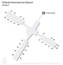 mco terminal map orlando airport mco guide fly to orlando with flight center