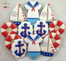 nautical baby 2016 decorated cookies pinterest nautical baby