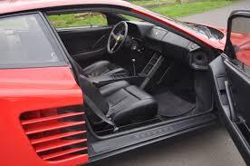 ferrari testarossa 1988 ferrari testarossa coupe coys of kensington