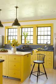 white kitchen cabinets yellow walls 21 yellow kitchen ideas decorating tips for yellow colored