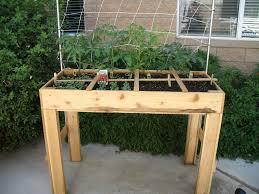 tabletop square foot garden beuna tomalino flickr