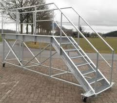 treppen gitterroste container treppe typ 1800 verz k60 gitterroste shop
