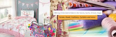 embroidered fabric surat embroidered fabric supplier