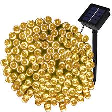 100 outdoor solar led string lights amazon com led solar fairy lights lte 100 led solar string lights
