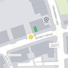 mosaic district map puree juice bar mosaic