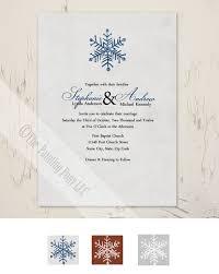snowflake wedding invitations rustic snowflake wedding invitation 10 pk the painting pony