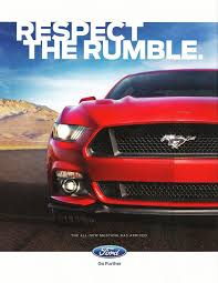 ford mustang ad 2016 ford mustang ad respect the rumble 2016 ford mustangs