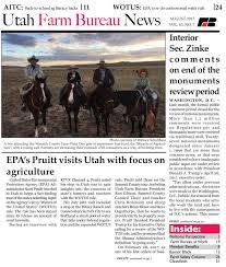 utah farm bureau news august 2017 by utah farm bureau federation