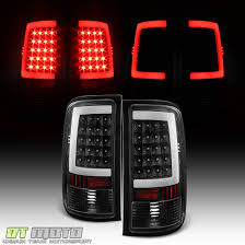 2005 gmc sierra tail lights black 2007 2013 gmc sierra 1500 2500hd 3500hd led tube tail lights