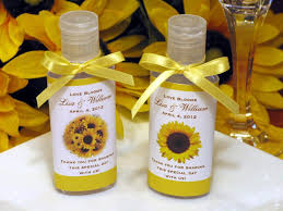 sunflower wedding favors bridgeey s we look forward to enhancing your st