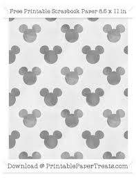 mickey mouse wrapping paper grey silhouette watercolor large mickey mouse pattern paper