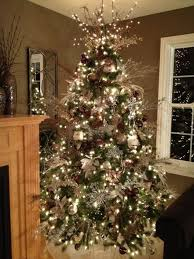 a brown christmas tree best 25 chagne christmas tree ideas on