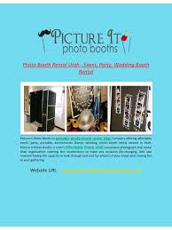photo booth rental utah photo booth rental utah event party wedding booth rental pdf