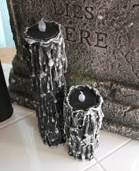 house of dewberry diy halloween candles evil trees