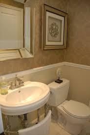 powder room wallpaper home design ideas