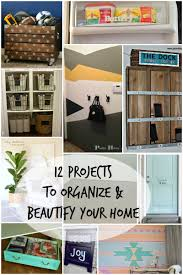 remodelaholic 12 projects to beautify and organize your home