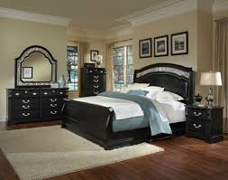 bedroom twin sleigh bed black light hardwood wall decor table