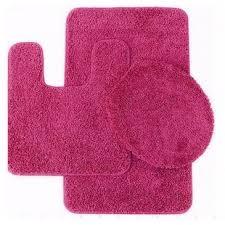 Pink Bathroom Rugs And Mats Pink Bathroom Rug Sets Wayfair