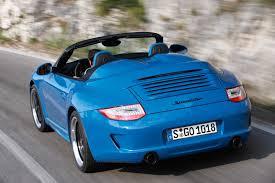 porsche speedster porsche 911 speedster expected at 2017 frankfurt show by car magazine