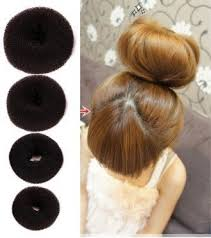 donut bun set of 4 pieces opcc hot hair donut bun ring styler