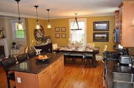 kitchen dining room design ideas open kitchen dining room color ideas open concept kitchen living