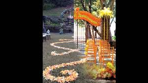 outdoor fall wedding decorations ideas youtube