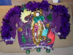 mardi gras sweater knit eagle s eye st s shamrock horseshoe lucky