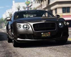 bentley phantom coupe 2013 bentley continental gt add on tuning hq gta5 mods com
