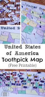 map of the united state united states of america toothpick map researchparent com