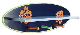Skateboard Shelf Amazon Com Trend Lab Wood Shelf Surf Board Nursery Armoires