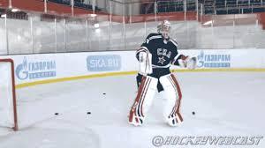 Hockey Goalie Memes - dancin khl goalie does back flip in full gear hockey ice hockey