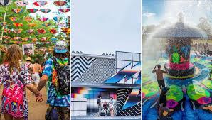 10 spectacular music festival art installations that u0027ll amaze you