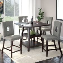 Modern Counter Height Dining Tables by Counter Height Dining Room Sets U2013 Thejots Net