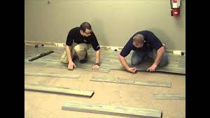 Earthwerks Laminate Flooring Luxury Click Vinyl Installation Youtube
