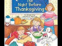 the before thanksgiving children s read aloud