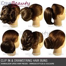 hair bun clip clip in hair bun hair extensions hair wigs ponytail