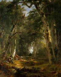 landscape painting artists in the woods asher brown durand 95 13 1 work of