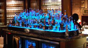 led lighted bar shelves led lighted liquor bottle display shelf shelves