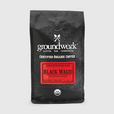 Coffee Magic black magic espresso organic signature blend coffee groundwork