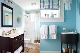 small blue bathroom ideas bathroom decorating in blue brown colors chocolate inspiration