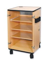 multimedia cart with locking cabinet vega av955s av cabinet with lockable rear access door multimedia
