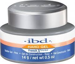 ibd hard gel french xtreme builder gel pink 2oz 56g 60692